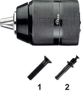"""Phantom Snelspanboorhouder, in metalen uitvoering 1-10mm 3/8""""-24 UNF 811811020"""