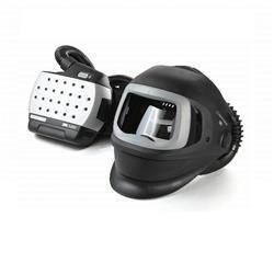 Speedglas lashelm XX 9100FX met Adflo unit, compleet met lader en accu in opbergtas. 547725