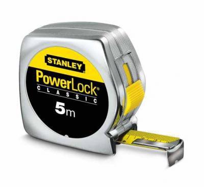 Stanley rolbandmaat powerlock 5 mtr. 0-33-194