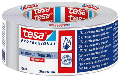 Tesa aluminiumtape 60650 L. 50 m b. 50 mm rol 4000309039