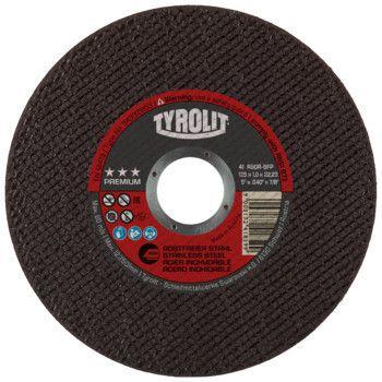 Tyrolit Premium*** Doorslijpschijf voor haakse slijpers 41 125x1,0x22,23 A60R-BFP 34332803