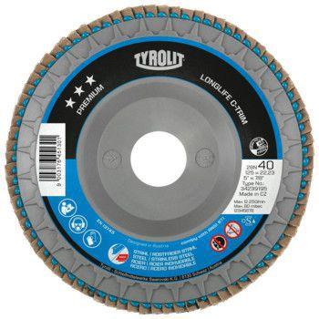 Tyrolit Premium*** Lamellerschijf voor haakse slijpers 28SLN 125x22,23 ZA80-B 34239197