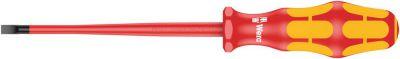 Wera 160 iS VDE geïsoleerde Zaagsnede Schroevendraaier, kling met gereduceerde diameter, 0.6 x 3.5 x 05006440001