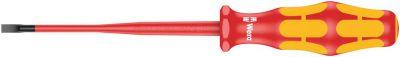 Wera 160 iSS VDE geïsoleerde Zaagsnede Schroevendraaier, kling met gereduceerde diameter, extra smal 05020129001