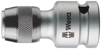 """Wera 784 C 1/2"""" Adapter met snelwisselfunctie, art. no. 784 C/1 x 1/4"""" x 50 mm 05042760001"""