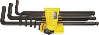 Wera 950/9 Hex-Plus Imperial 1 Stiftsleutelset, inch, BlackLaser, 9-delig 05022171001