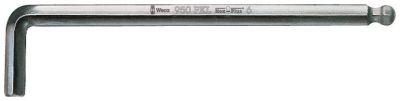 Wera 950 PKL Stiftsleutel, metrisch, verchroomd, 6 x 180 mm 05022062001