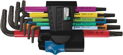 Wera 967/9 TX Multicolour HF 1 Stiftsleutelset met vasthoudfunctie, 9-delig 05024179001