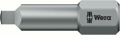 Wera bit 868/1BTZ SQ drive 2x25 mm 05066446001