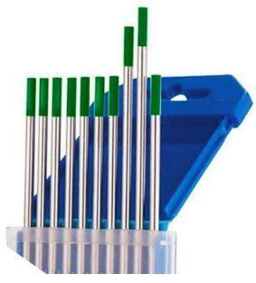 Wolframelectrode Groen 1.0 mm x 175 mm 400P010175